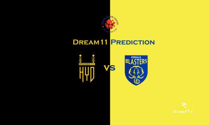 Kerala Blasters FC vs Hyderabad FC Dream11 Prediction Dream11 KreedOn