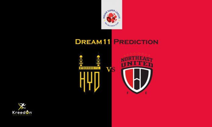 NEUFC vs HYD Dream11 Prediction 2019 KreedOn