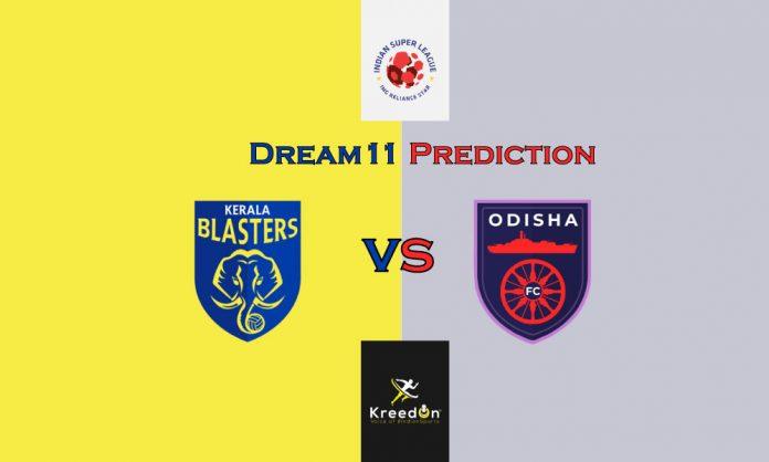 Kerala Blasters FC vs Odisha FC Dream11 Prediction KreedOn