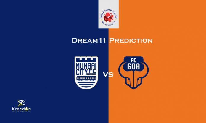 FC Goa vs Mumbai City FC Dream11 Prediction Kreedon