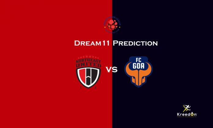 FC Goa vs NorthEast United Dream11 Prediction kreedon
