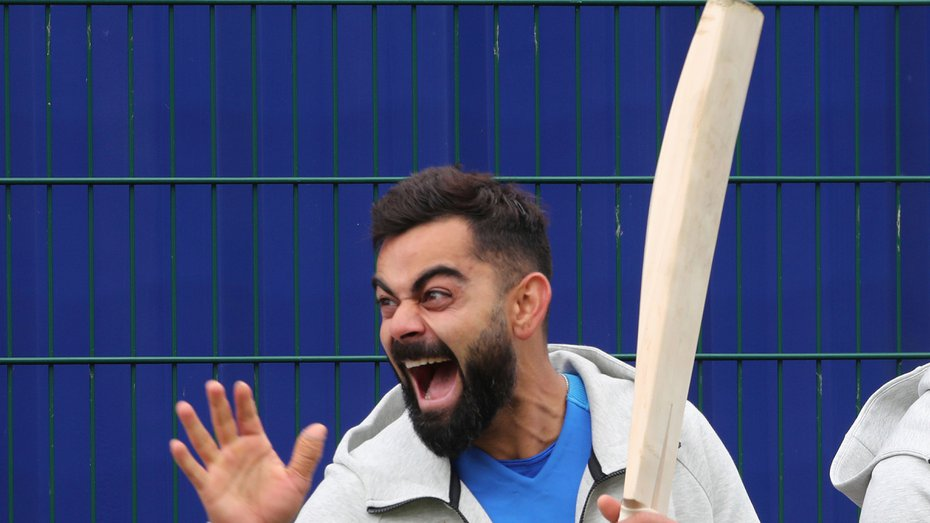 Virat Kohli reaction kreedon