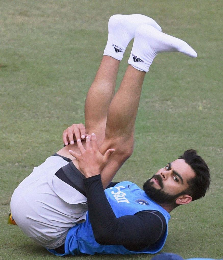 Virat Kohli Practice session Kreedon