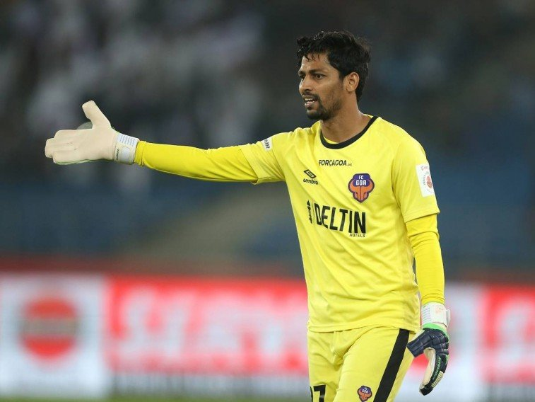 L Kttimani most saves in ISL kreedon