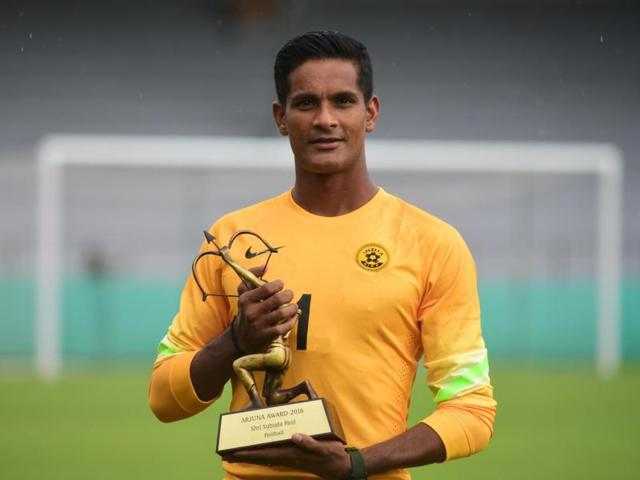 Subrata pal most saves in ISL kreedon