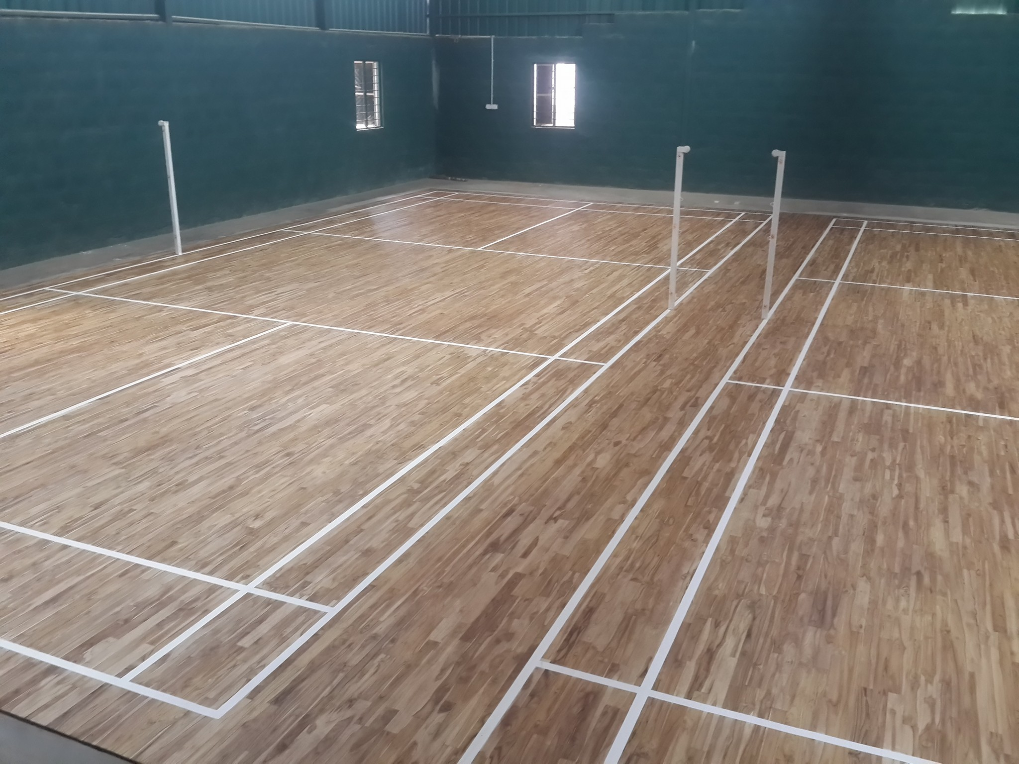 Teak floor in India KreedOn