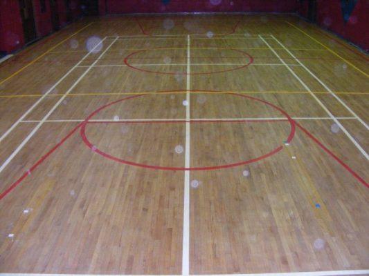 Maple Wooden Flooring I Rebound Ace n India|