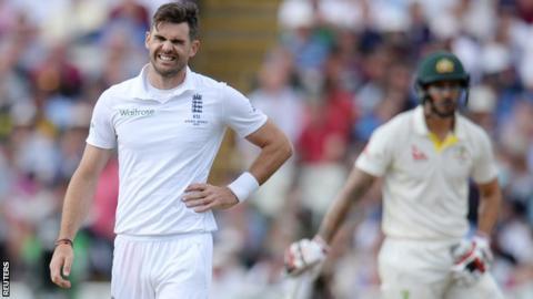 James Anderson Cricket Injuries KreedOn