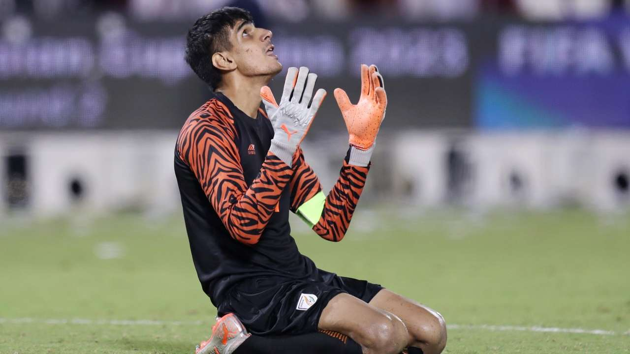 Gurpreet most saves in ISL Kreedon