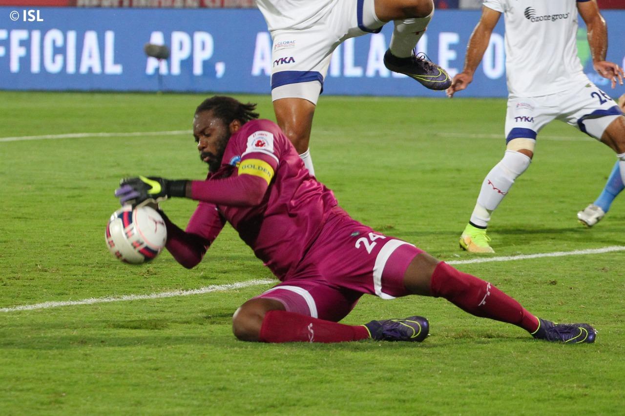 Apoula Edel best goalkeeper in ISL KreedOn