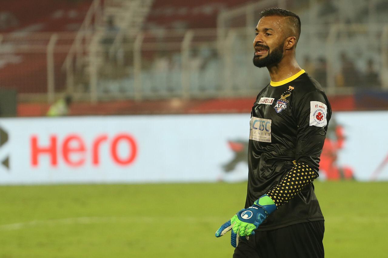 Arindam Bhattacharja best goalkeeper in ISL