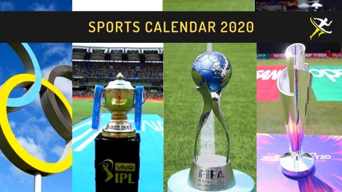 Sports Calendar 2020 KreedOn