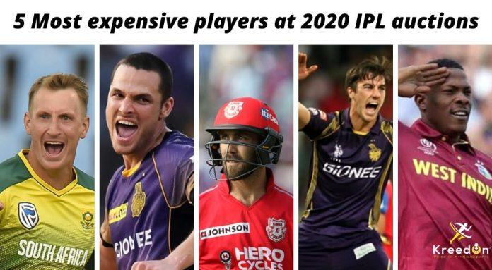 IPL Auctions 2020 KreedOn
