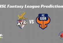 FC Goa vs ATK Dream11 Prediction 2019