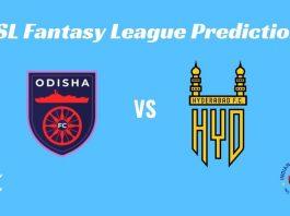 Odisha FC vs Hyderabad FC Dream11 Prediction ISL 2019