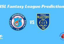 Kerala Blasters FC vs Jamshedpur FC Dream11 Prediction 2019