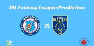 Kerala Blasters FC vs Jamshedpur FC Dream11 Prediction 2019