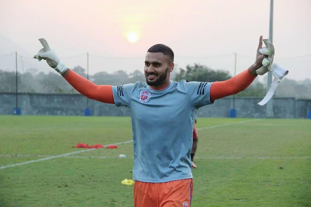 Kamaljit Singh Best Goalkeeper in ISL KreedOn