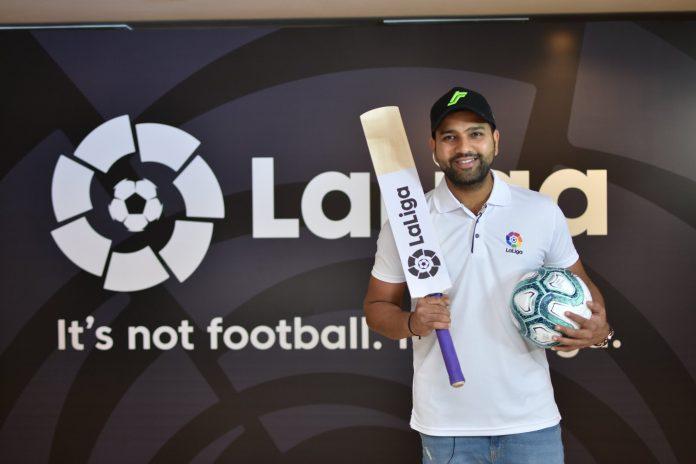 Rohit Sharma Brand Ambassador La Liga