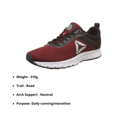 Reebok marathon shoes