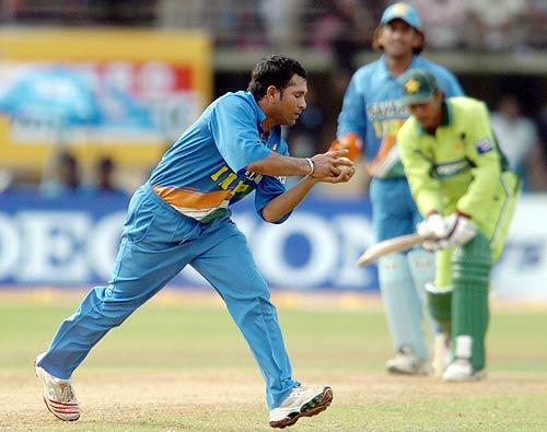 Sachin most catches in ODIs KreedOn