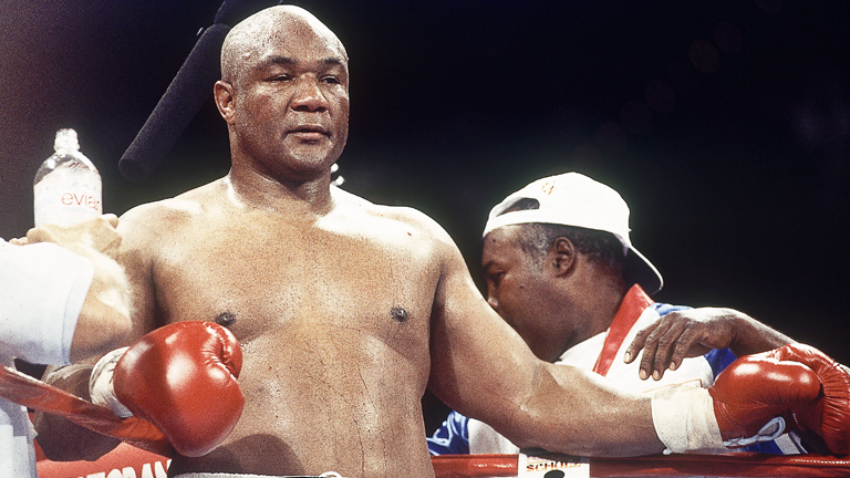 George Foreman Famous Boxer KreedOn