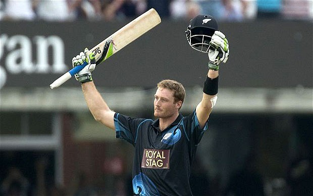 guptill most sixes cricket