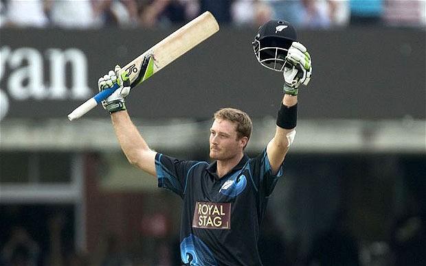 guptill most sixes cricket
