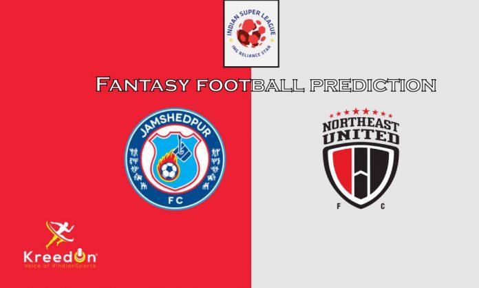 NorthEast United FC vs Jamshedpur FC Dream11 Prediction ISL 2019