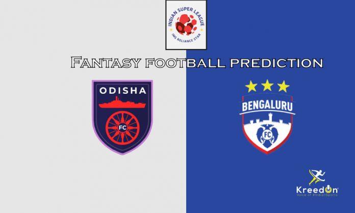 Bengaluru FC vs Odisha FC Dream11 Prediction ISL 2019