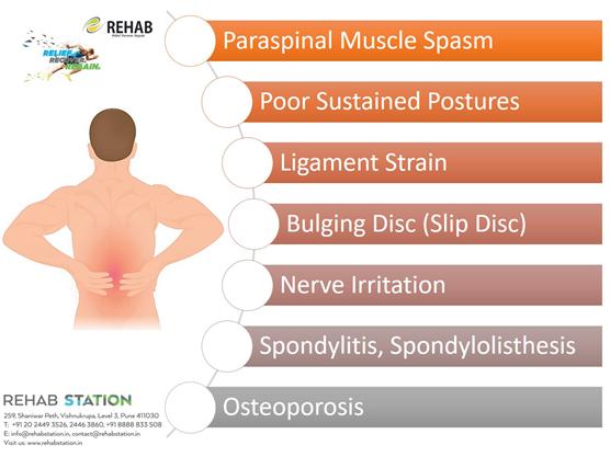 Origins of Back pain KreedOn
