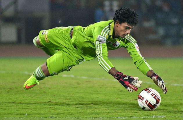 Rehenesh best goalkeeper in ISL Kreedon