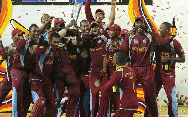 West Indies World Cup winners KreedOn