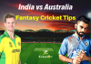 IND vs AUS 3rd ODI Dream11 Prediction