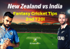 NZ vs IND 2nd T20I Dream11 Prediction