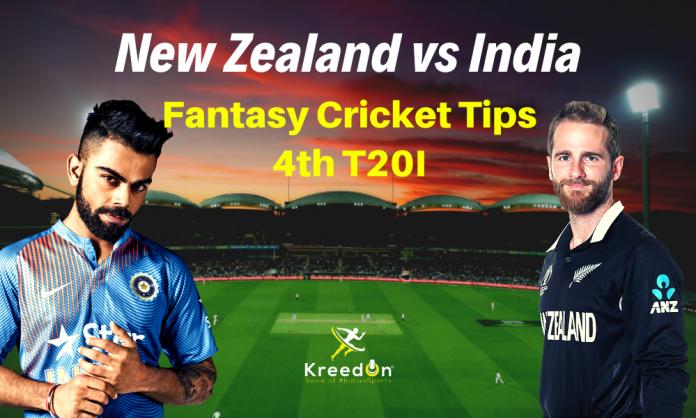 NZ vs IND 4th T20I Dream11 Prediction