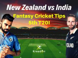 NZ vs IND 5th T20I Dream11 Prediction