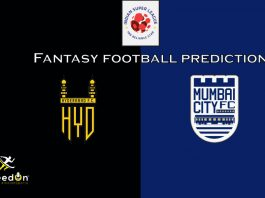 MCFC vs HYD Dream11 Prediction 2020