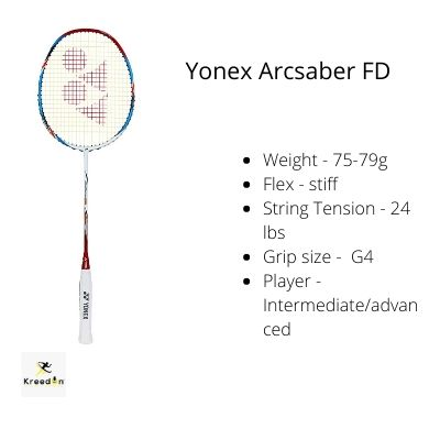 badminton rackets under 5000 kreedon