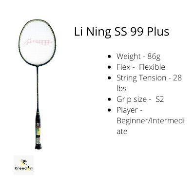 Best badminton rackets under 5000 kreedon