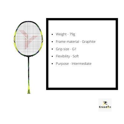 Young badminton rackets