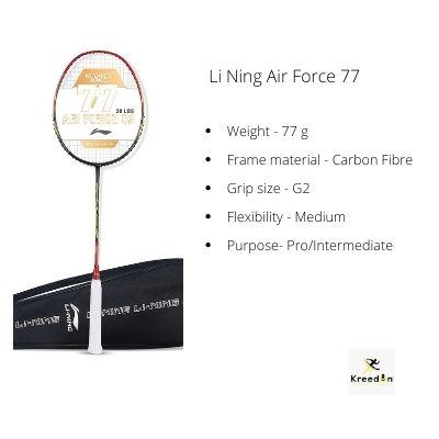 Li Ning rackets under 3000
