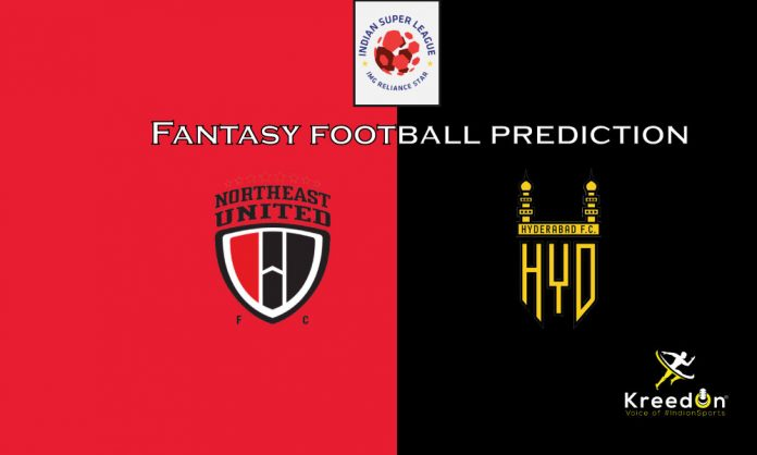 NEUFC vs HYD Dream11 Prediction 2020