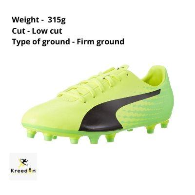 Puma best football shoes kreedon