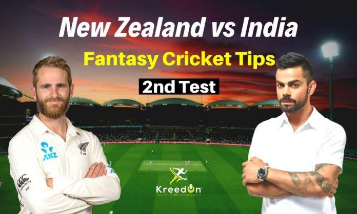 NZ vs IND 2nd Test Dream11 Prediction