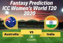 Australia Women vs India Women Dream11 Prediction | Women's T20 World Cup