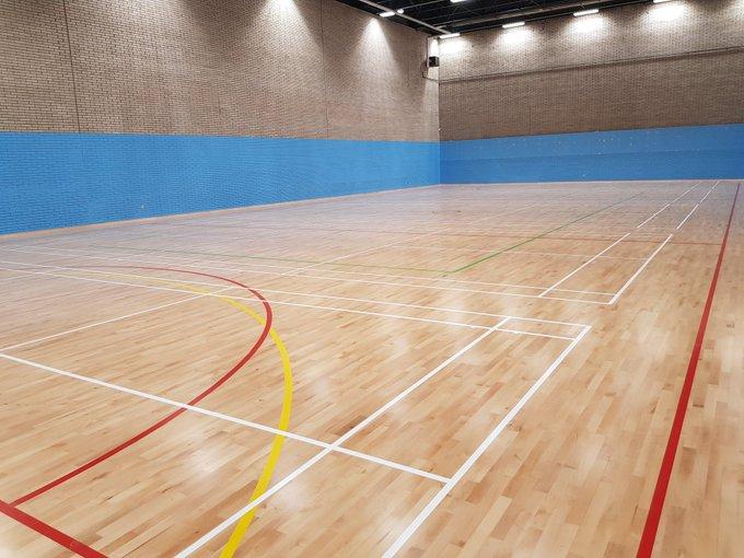 wood sports flooring Volleyball floor KreedOn