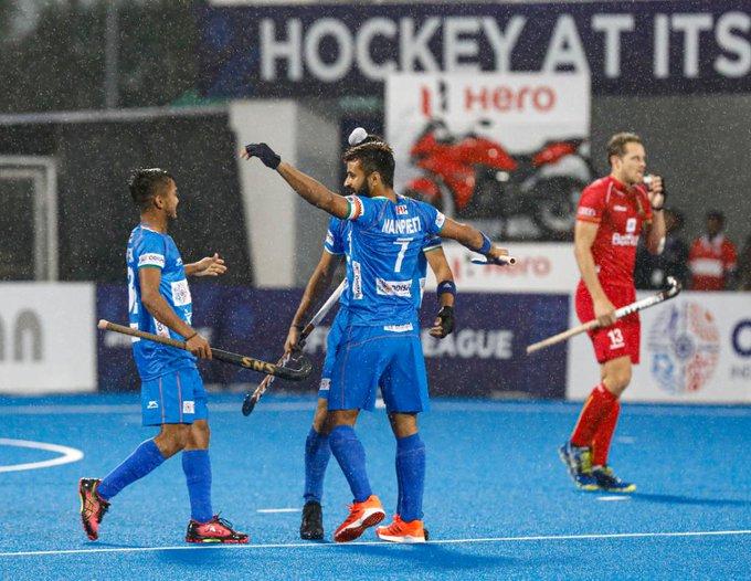 India vs Belgium