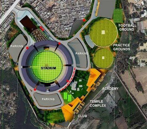 Motera Stadium Structure KreedOn