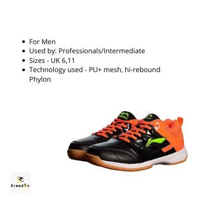 best squash shoes kreedon